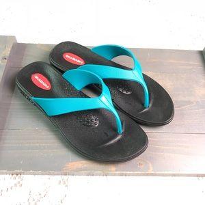 Okabashi Flip Flops Thong Sandals Size M 6.5-7.5